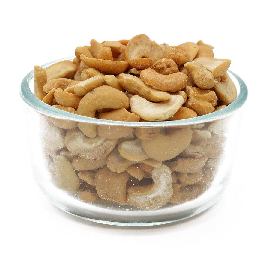 Roasted Cashew Splits in Bulk