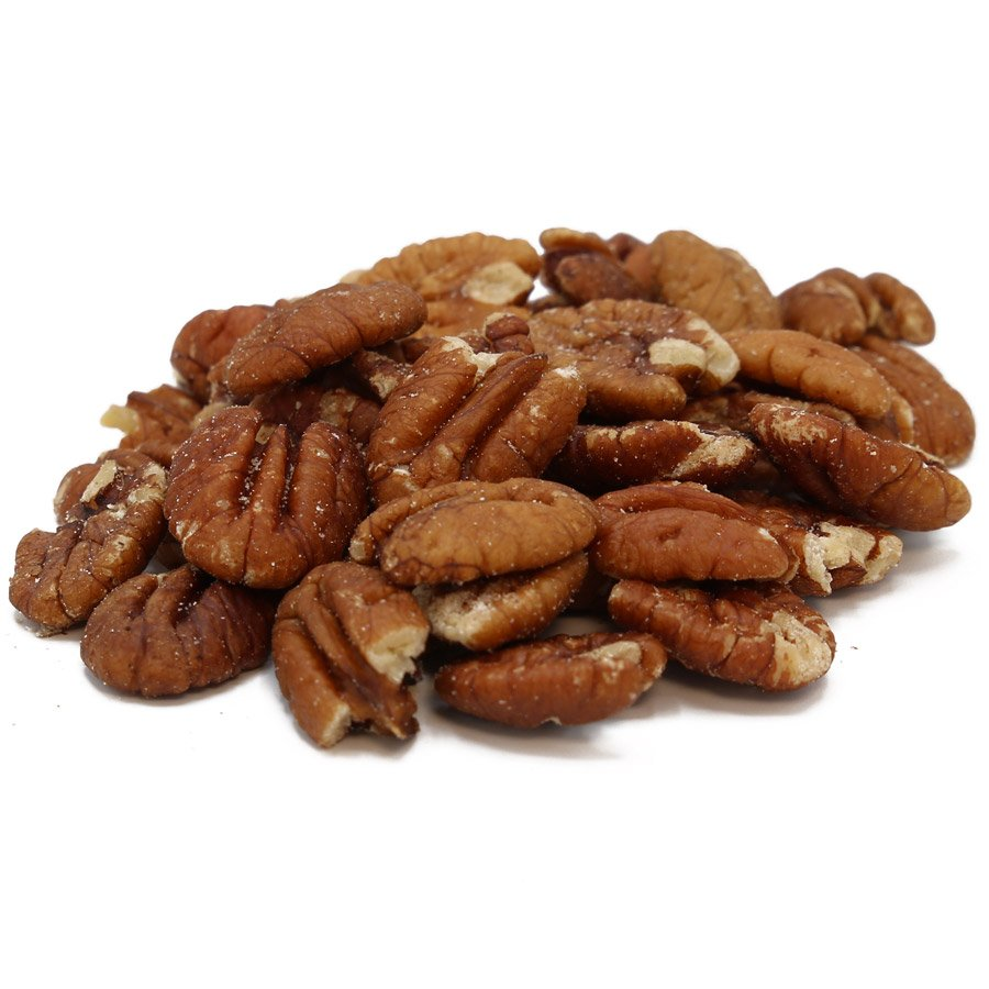 Bulk Pecans –  Halves, Roasted, Salted